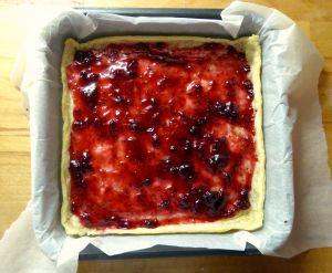 Jam on Pastry
